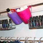 Getting organized, one nail polish color at a time