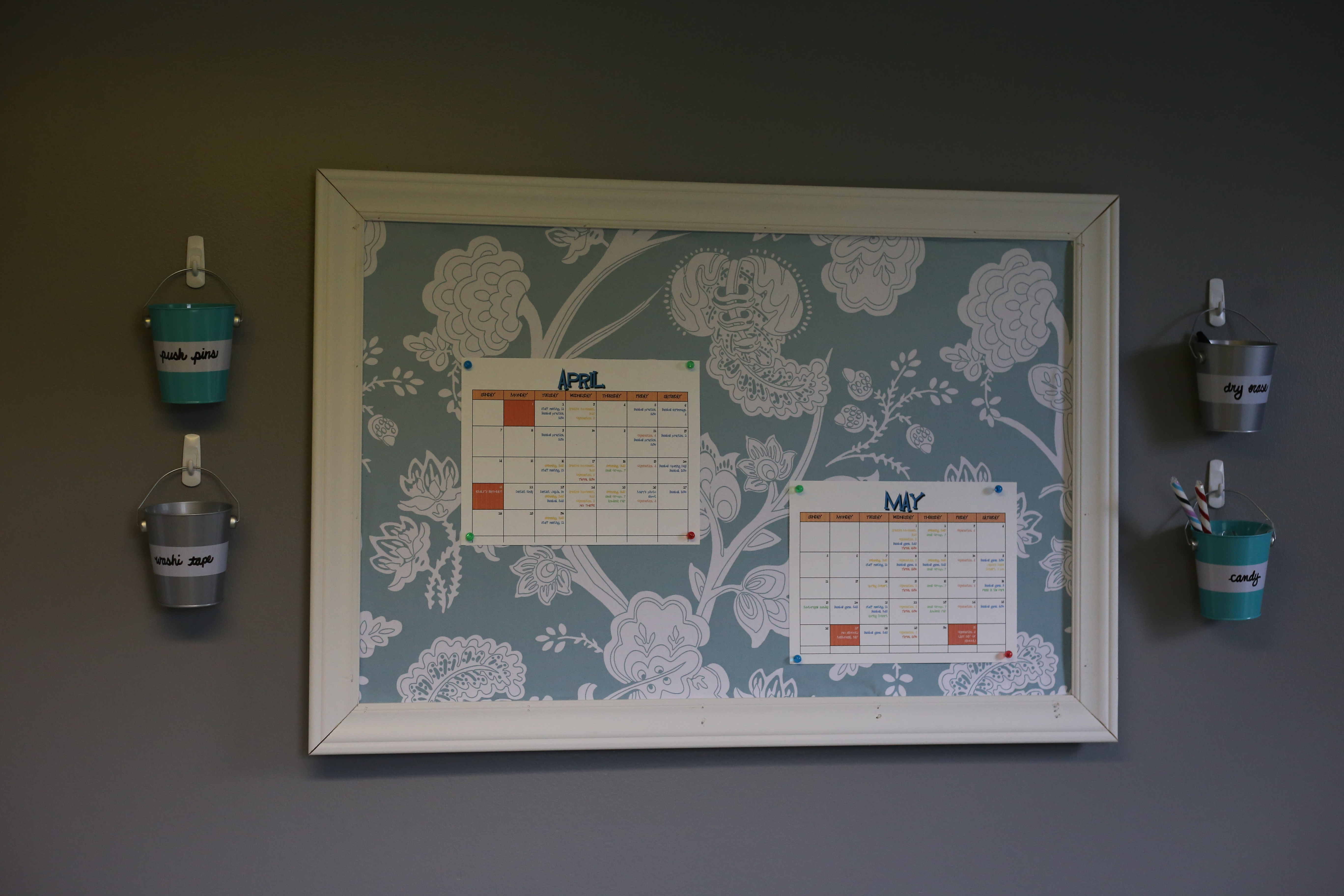 Getting cozi with my calendar