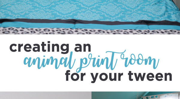 Creating an animal print room for your tween