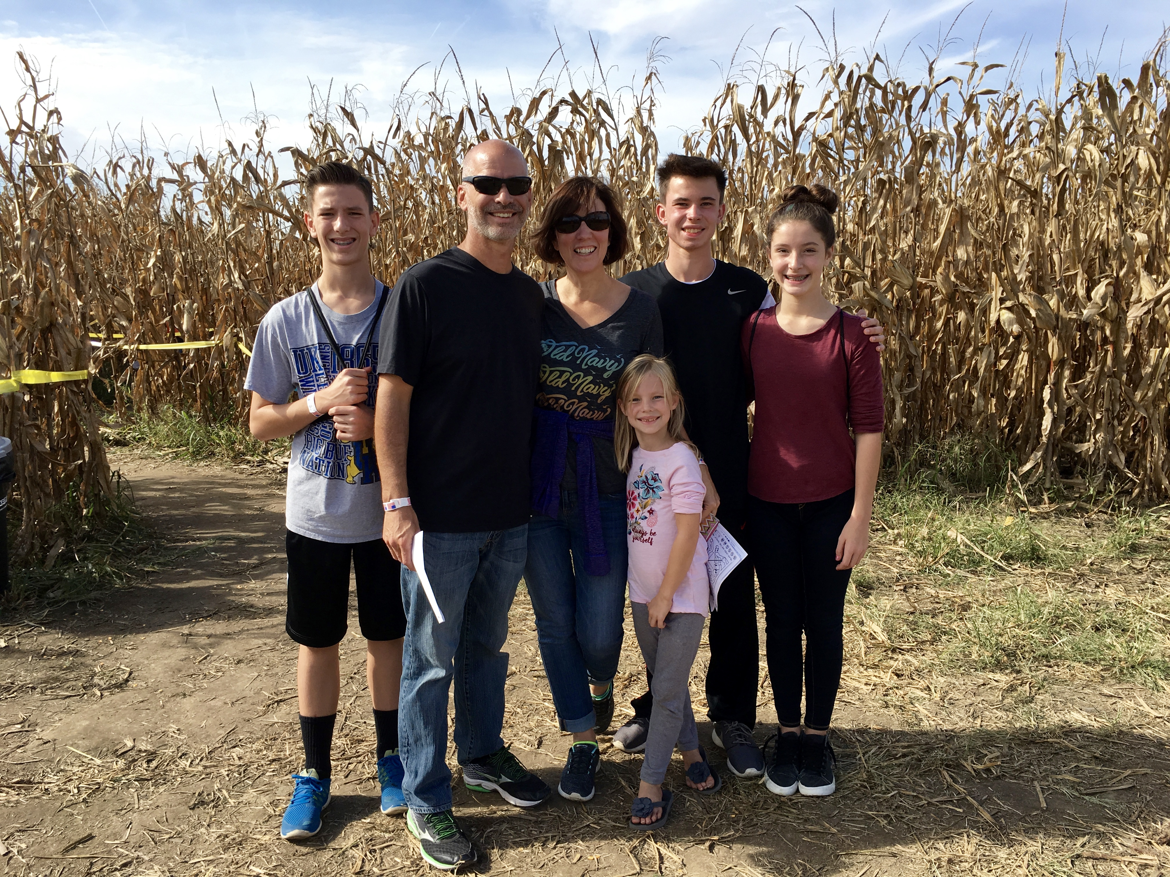 life lessons in a corn maze