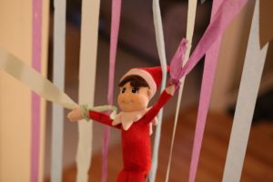 How we were finally visited by an elf