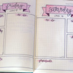That time I started a bullet journal